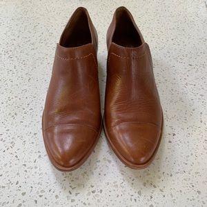 Bernardo leather booties